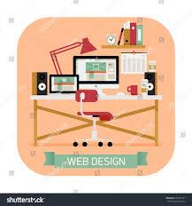 creative furniture icons set flat design. creative furniture icons set flat design vector modern round corners icon on e