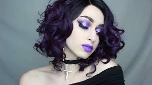 mermaid goth makeup tutorial gif
