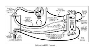 wiring a gfci outlet diagram wiring diagram wiring a gfci outlet how to wire line and load schematics