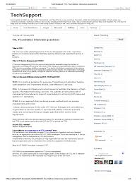 techsupport itil foundation interview questions docshare tips