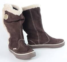 vans womens uk size 3 5 brown leather winter boots