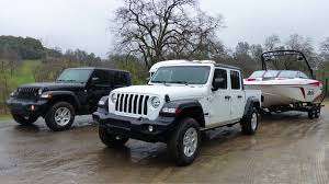 The Engineering Behind The Jeep Gladiators Tow Rating And
