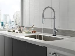 Touch Technology Kitchen Faucet Trinsic Pro Kitchen Faucet Collection Featuring Touch Technology