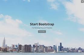 Stylish Portfolio One Page Bootstrap Portfolio Theme At