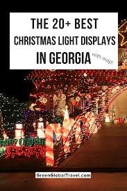 College Hill Christmas Lights 20 Best Christmas Light Displays In Georgia For 2019 With Map