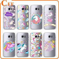 samsung galaxy s5 cute phone cases. cute cartoon unicorn phone cases cover for samsung galaxy s5 s6 edge s6edgeplus s7edge soft