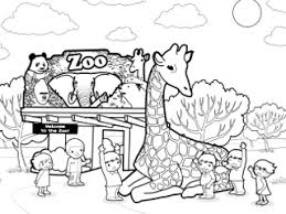 Small Picture Zoo Coloring Pages GetColoringPagescom