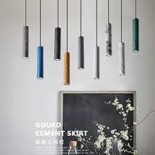 simple nordic cylinders pendant lamp lights chandelier lighting led hanglamp loft decor lamps light fixtures cafe barn decor blown glass pendant light clear