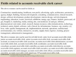 16 Free Sample Account Receivable Clerk Cover Letter For