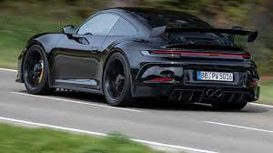 Although the 911 carrera's turbocharged engine sounds pretty good, the gt3 is on another level. 2021 Porsche 911 Gt3 Prototype First Ride Review Waiting For Our Turn
