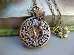 women s pocket watch necklace
