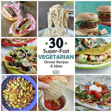 30 super fast vegetarian dinner ideas that take 20 minutes or less to make