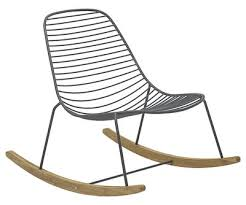 rocking chair sketch. Plain Sketch Mobilier  Fauteuils Rocking Chair Sketch  Mtal U0026 Bambou Houe Gris Inside Chair Made In Design