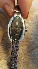 paolo gucci gucci mens watch paolo gucci ladies silvertone gemstone wrist watch in box excellent