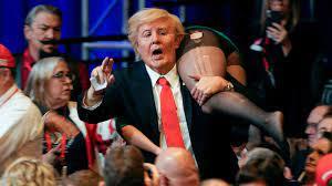 Trump impersonator interrupts Vice ...