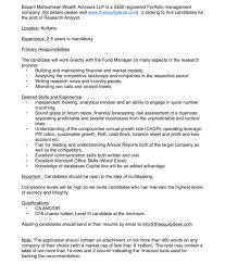 Cfa Candidate Resume Basant Maheshwari On Twitter We Are Hiring Suitable Candidates 14