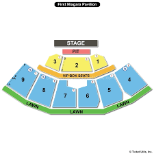 Keybank Pavilion Seating Chart With Seat Numbers Www
