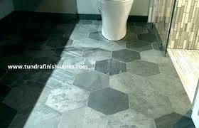 infinite mirage timeless illusion hexagon mosaic tile daltile 4x4