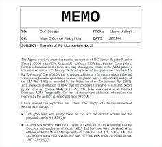 Memo Format Template Gallery - Template Design Free Download