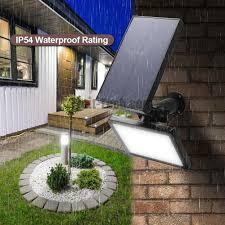 48led solar powered outdoor wall light solar outdoor lighting spotlights security lighting