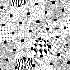 Doodle Patterns Classy Vector Doodles Pattern Zentangle Royalty Free Cliparts Vectors And