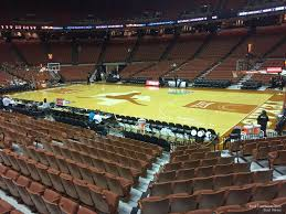 Frank Erwin Center Section 22 Texas Basketball