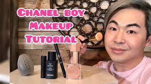 men s spring makeup tutorial feature chanel boy makeup