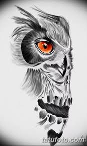 эскизы тату сова мужские 09032019 005 Tattoo Sketches