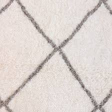 white moroccan beni ourain rug