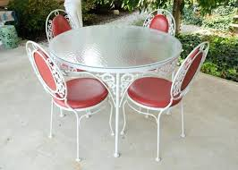 wrought iron patio furniture white wrought iron. used white wrought iron patio furniture table french provincial style