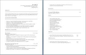 Contract Trainer Resume Personal Fitness Trainer Resume Perfect ...