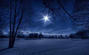 Winter Night Wallpapers Group (88+)