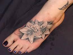 Tetování Na Noze Krásná Sexy Provokativní