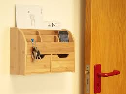 desk stationery box wall mounted organiser