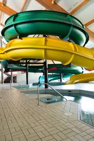 indoor pool with waterslide. Two Large Waterslides Indoor Pool With Waterslide A
