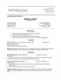 No Work Experience Resume Sample Toreto Co High School Graduate