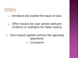 discursive essays a k a argument essays ppt video online  5 steps
