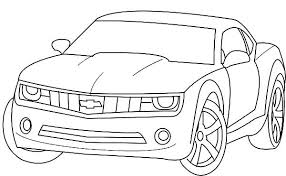 Small Picture Printable 21 Chevy Coloring Pages 6135 Chevrolet Camaro