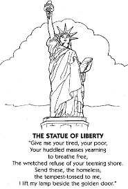 Small Picture The Statue of Liberty America Coloring Pages Clip Art Library