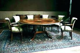 round dining table for 6 dimensions person room standard dime