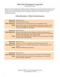 Office Manager Resume Samples Gallery Of Front Office Manager Resume