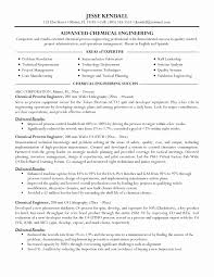 Resume format for Experienced Production Engineers Lovely Download Cement  Process Engineer Sample Resume