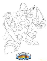 Swarm Skylanders Coloring Page - Free Coloring Pages Online