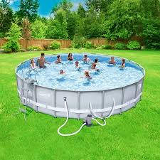coleman power steel 22u0027 x 52 swimming pool pics41