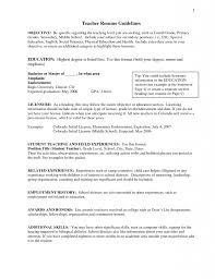 Download Education Resume Objectives Haadyaooverbayresort Com