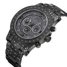 jbw lynx multi function black dial diamond men s watch j6336a jbw lynx multi function black dial diamond men s watch j6336a