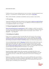 RESUME MISTAKES To find out the worst resume mistakes that are way too  common - beyond ...