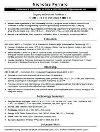 computer programmer resume samples db programmer resume analyst programmer resume samples resume