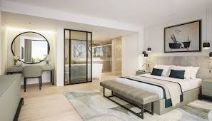 Master Bedroom Suites Luxury Contemporary Master Bedroom Suite With Open Plan Ensuite