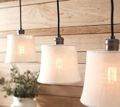 rustic lighting pendants. New Track Lighting With Pendants Bleached Burlap Shades Kitchens . Rustic